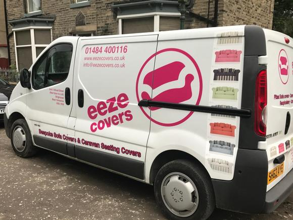 Eeze loose sofa covers and reupholstery van